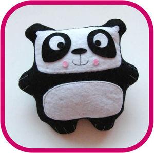 Tuto doudou panda